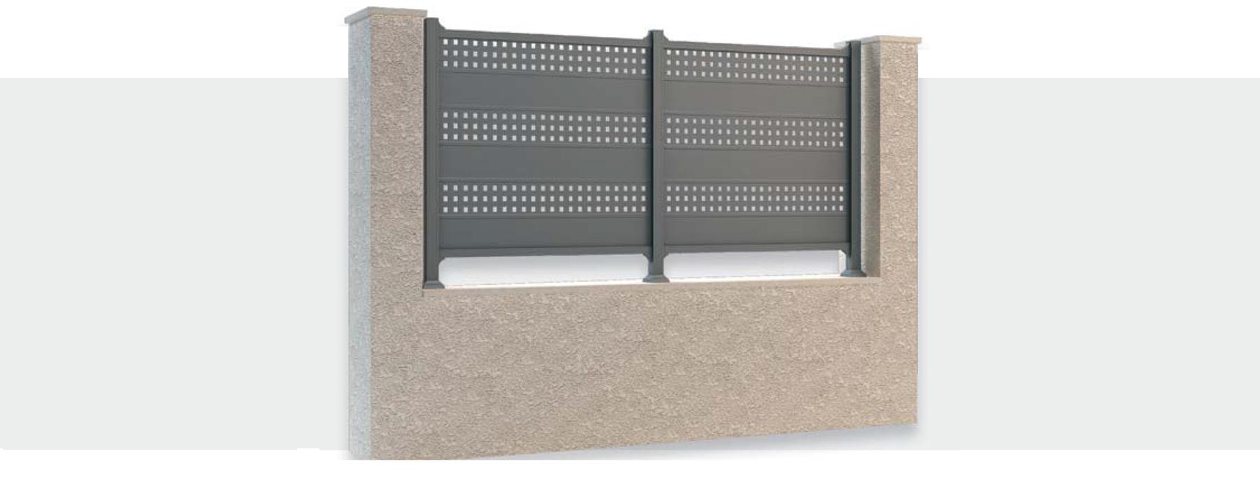 La palissade for Palissade aluminium prix
